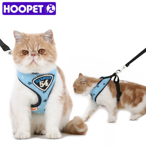 Pet Cat Vest Harness Leashes Suit