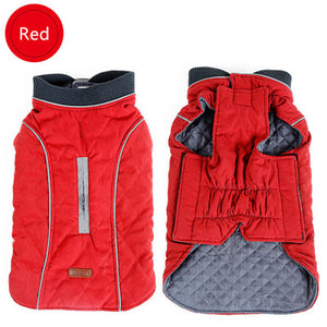 Retro Design Cozy Winter Dog Pet Jacket