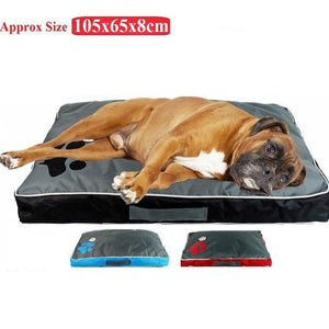 Washable Big Dog Bed Pet Soft Large Dog Cushion