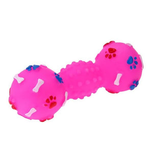 Ball Bone Shape Dog Squeakers Sound  Toy