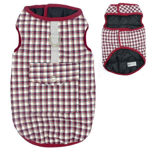 Winter Dog Pets Clothes Clothing for Small Large Dogs