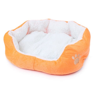 Footprint Dog Bed Soft Pet House Mat
