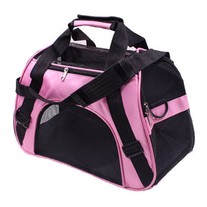 Portable Pet Backpack Messenger Carrier