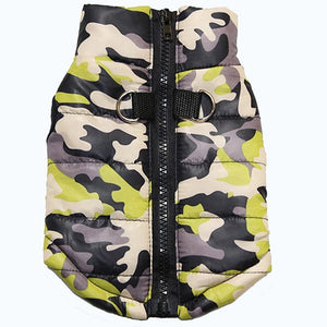 8 Patterns Camo Winter Dog Jacket