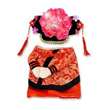 The Chinese Princess With Headdress Halloween Cosplay Clothes