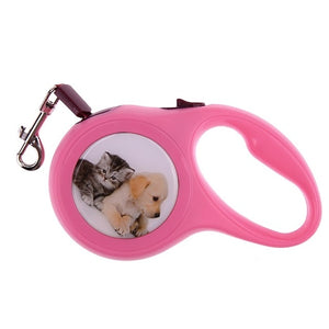 Automatic Extending Nylon Walking Dog Lead Leash