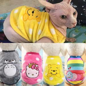 Autumn Winter Pet Clothing