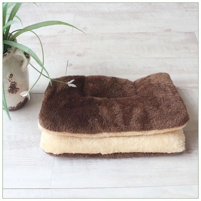 Winter Warm Dog Bed