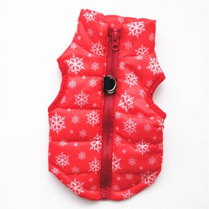Pet Clothes Puppy Outfit Vest Warm Dog Clothes