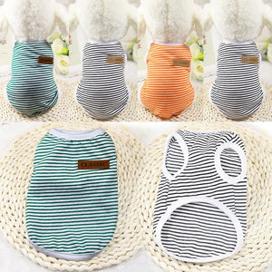 Summer Pet Clothes for Cat Vest Clothes