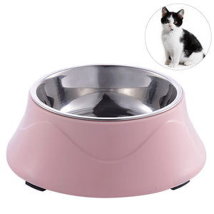 Stainless Steel Color Spray Paint Pet Dog Bowls