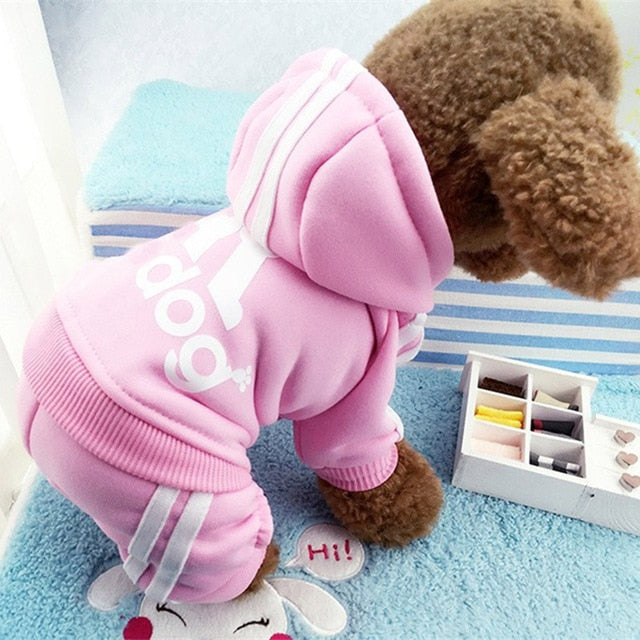 Winter Warm Cotton Cat Clothing
