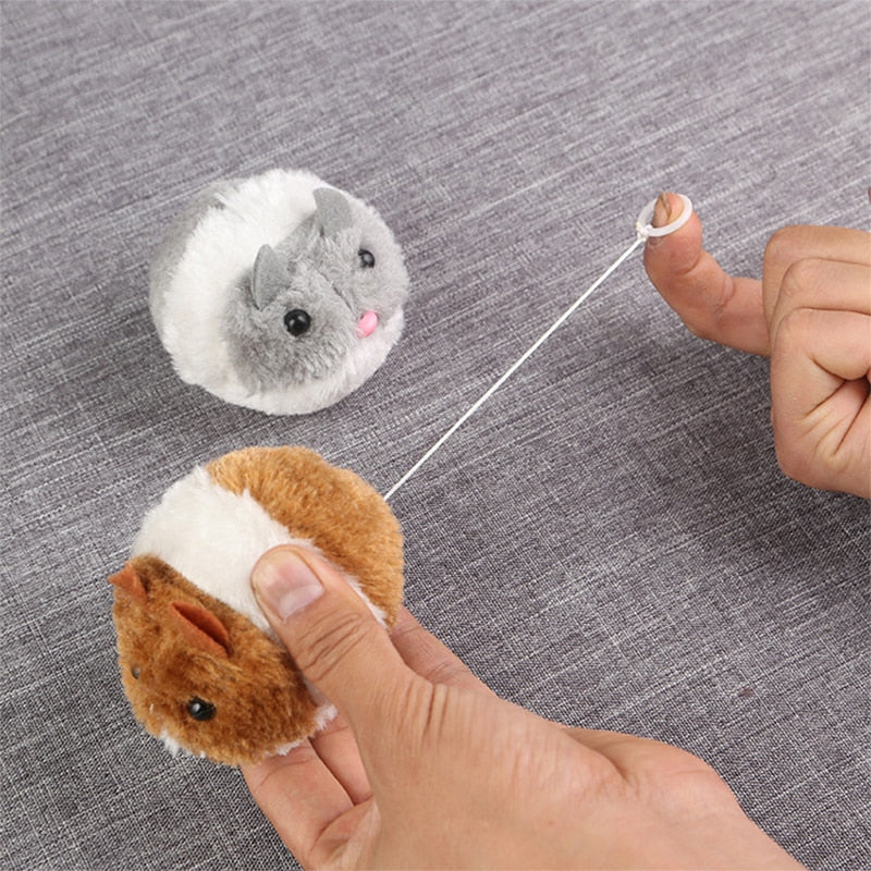 1PC cute cat toy plush fur toy
