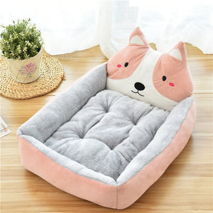 Cute Pet Dog Bed Mats
