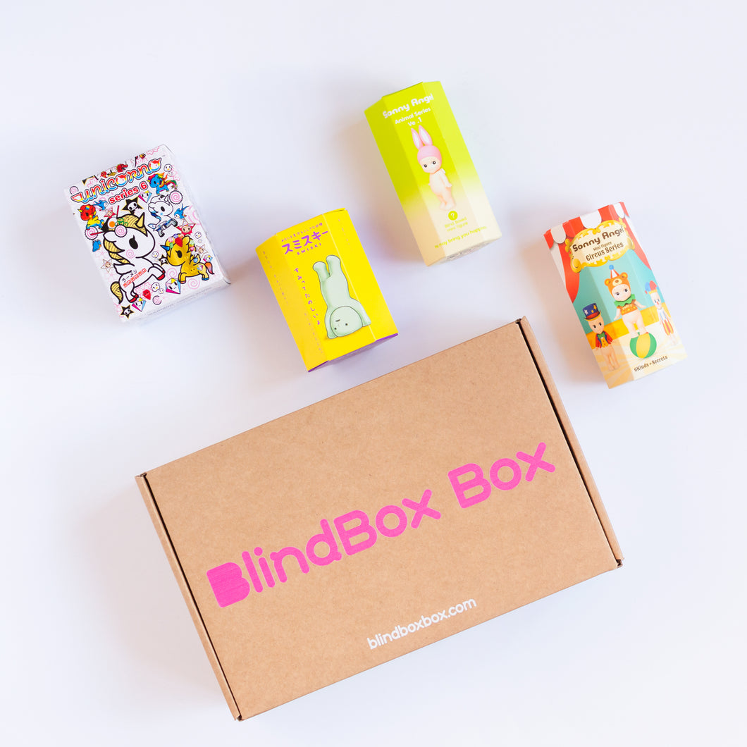 Super - 4 Blind box each month