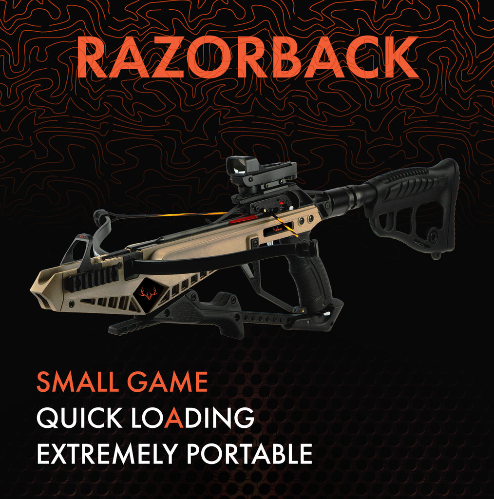 Viking Razorback Recurve Crossbow Package
