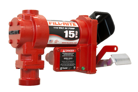 115 Volt AC Pump Only Model FR604G | Fill-Rite | Drake Equipment