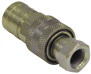 1/4 Inch NPTF Sleeve-Type Hydraulic Quick Coupler Assembly