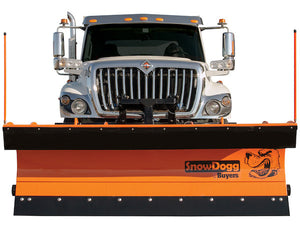 SnowDogg? Trip Edge Steel Municipal Plow Assembly 9 Foot x 36 Inch-Drop Pin