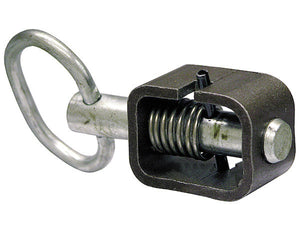 5/8 Inch Weld-On Spring Latch Assembly-Plain Tube with 1.31 Inch Longer Plunger