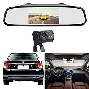Rear Observation System with Mirror Monitor and Camera