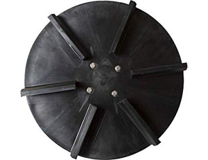 Replacement 18 Inch Hydraulic Poly Spinner Disk Assembly for SaltDogg Spreader
