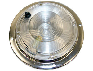 5 Inch Clear Round Incandescent Interior Dome Light