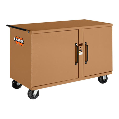 Model 58 STORAGEMASTER® Heavy-Duty Rolling Bench | KNAACK® | Drake Equipment