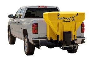 SaltDogg? 11.0 Cubic Foot Yellow Polymer Electric Tailgate Spreader