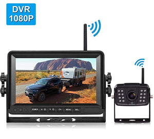 Wireless Rear Observation System with Backup Camera