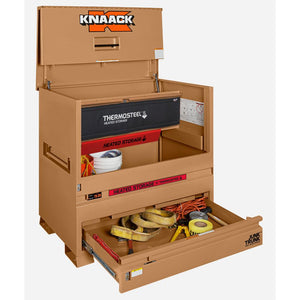 Model 79-DH STORAGEMASTER® Piano Box with Junk Trunk™ and ThermoSteel™ | KNAACK® | Drake Equipment