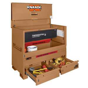 Model 89-DH STORAGEMASTER® Piano Box with Junk Trunk™and ThermoSteel™ | KNAACK® | Drake Equipment
