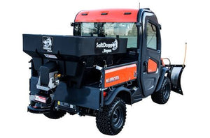 SaltDogg? 0.75 Cubic Yard Electric Black Poly Hopper Spreader