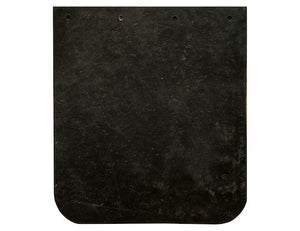 Heavy Duty Black Rubber Mudflaps 14x12 Inch