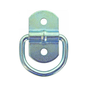 Surface Mounted Rope Ring Zinc Plated