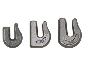 3/8 Inch Drop Forged Weld-On Heavy-Duty Towing Hook - Grade 43