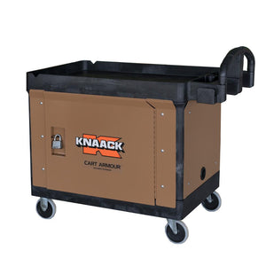 Model CA-01 Cart Armour Mobile Cart Security Paneling | KNAACK® | Drake Equipment