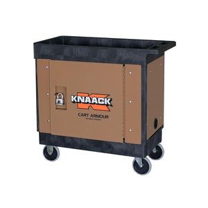 Model CA-02 Cart Armour Mobile Cart Security Paneling | KNAACK® | Drake Equipment