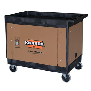 Model CA-03 Cart Armour Mobile Cart Security Paneling | KNAACK® | Drake Equipment