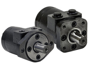 Hydraulic Motor With 2-Bolt Mount/NPT Threads And 2.8 Cubic Inches Displacement