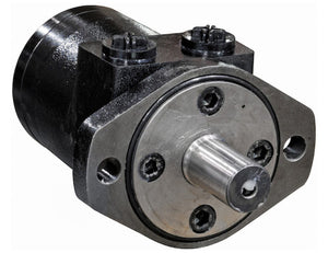Hydraulic Motor With 2-Bolt Mount/NPT Threads And 7.3 Cubic Inches Displacement