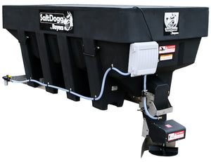 SaltDogg 12 VDC Pre-Wet Kit With One 30-Gallon Poly V-Box Mount Reservoir for SHPE Series Spreaders