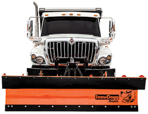 SnowDogg? Full Trip Steel Municipal Plow Assembly 9 Foot x 36 Inch-Drop Pin