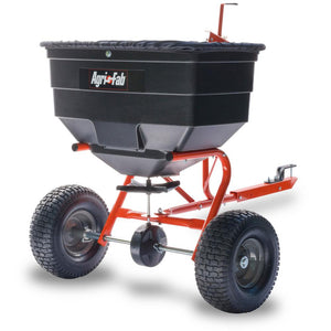 Tow-Behind Broadcast Spreader for Tractors, UTVs, and ATVs