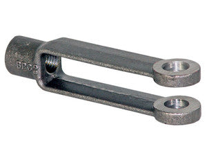 Adjustable Yoke End 3/4-10 NC Thread And 3/4 Inch Diameter Thru-Hole