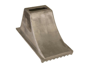 Aluminum Wheel Chock 8.5x15x8.25 Inch