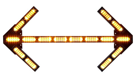 Traffic Advisor™, Front Load, Arrow Head Style, Linear™ Super-LED® | Whelen | Drake Equipment