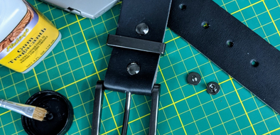 Make Your Own Leather Belt (VIDEO)