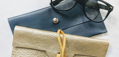 How-To Make a Simple Leather Sunglasses Case