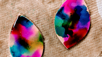 How To Paint, Marble, and Alcohol Ink On Leather